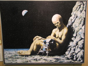 1970_The_Ego_Has_Landed_painting