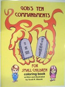 God's Ten Commandments for Small Children