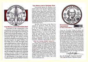 C.F.W. Walther 200th Anniversary Medallion